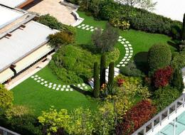 Guaine catrame guaine pvc guaine poliolefine cuneo for Giardini piccoli moderni